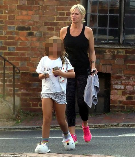 Zoe Ball heads to dance class with Michael Reed and ...