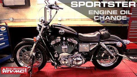 Harley Davidson Sportster Engine Oil Change
