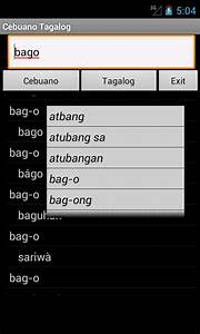 Cebuano Tagalog Dictionary - Android Apps on Google Play