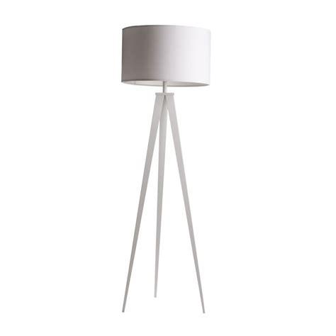 lampe trepied noir ou blanc tripod metal zuiver