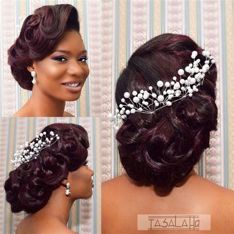 Updo Hairstyles For Black Wedding by 1000 Ideas About Black Hairstyles Updo On