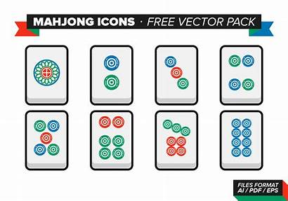 Mahjong Vector Icons Pack Icon Clipart Graphics