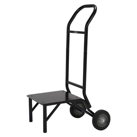 Lifetime Stacking Chair Cart lifetime 80525 stacking chair wheel storage rack cart dolly