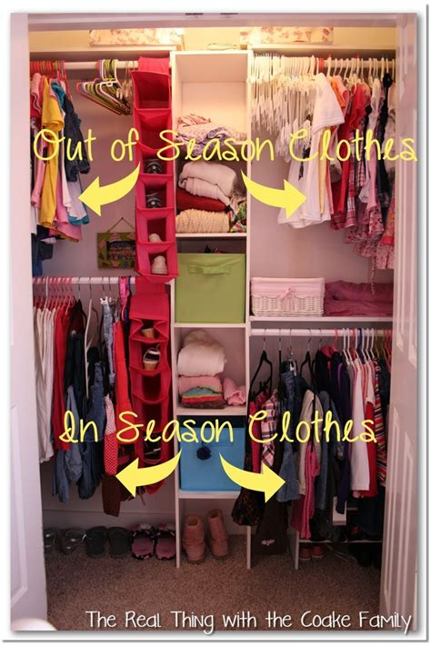 Child Closet Organization Ideas by The Real Thing With The Coake Family Closet