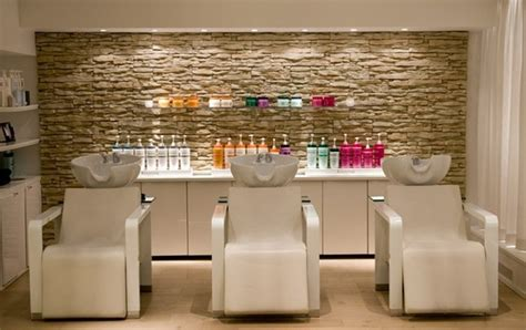 Salon Decor Ideas Images by Chairs With Decorative Wall For Small Hair
