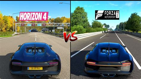 In this video we are com. Forza Horizon 4 Vs Fmotorsport 7 Engine Sound & Top Speed ...