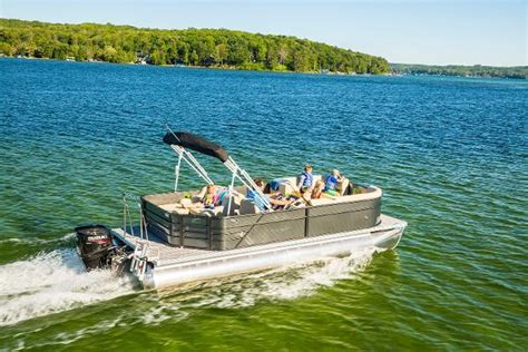 Boat Covers Traverse City by Crest 220 L Pontoon Boats New In Traverse City Mi Us