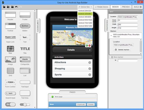 android app builder easy to use android app builder heise