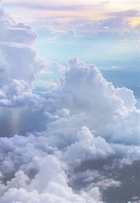 Image via We Heart It #air #background #clouds Ur So
