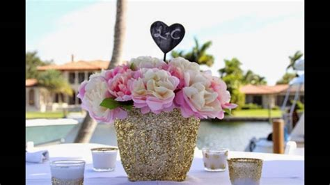 bridal shower table decorations youtube