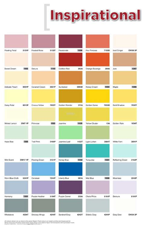 nippon paint color catalogue paint color ideas