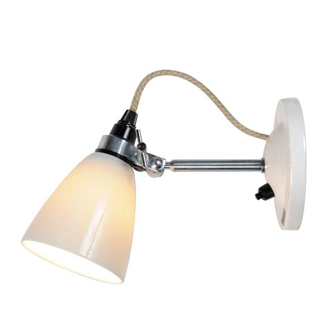 hector small dome wall light switched by original btc