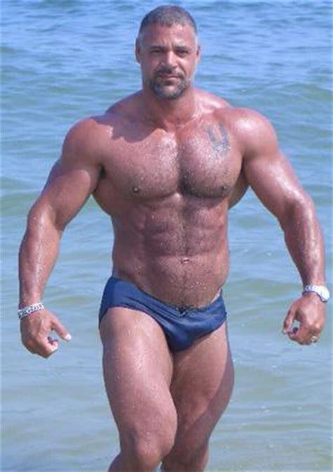 Bodybuilder Health Beach Beefcake