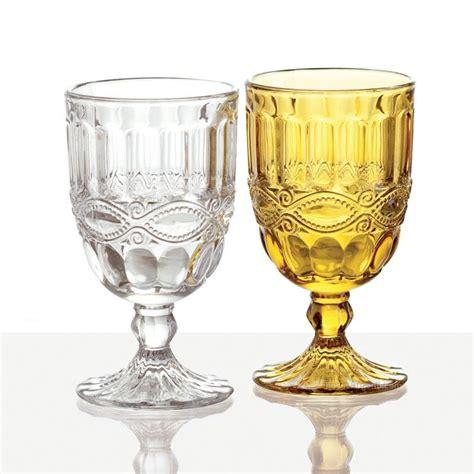 bicchieri fade calice provence fade ambra ml 250 calice vetro colorato
