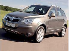 Vauxhall Antara 4x4 review Auto Express