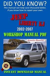 Jeep Liberty Kj Service Repair Manual 2002