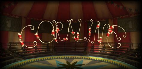 coraline spelled  jumping circus mice coraline