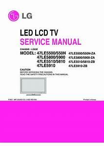 Lg 47le5400 Lcd Tv Schematic Diagram