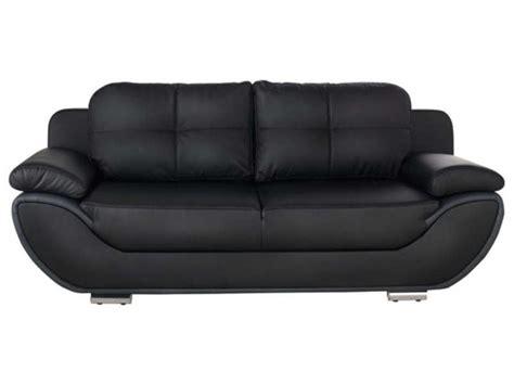 conforama canapé lit 3 places canapé fixe convertible 3 places pacora coloris noir gris