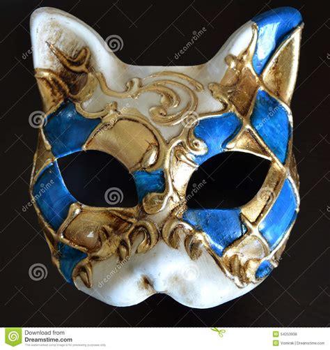venetian cat mask venetian mask of a cat muzzle stock photo image of