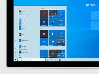 Windows Interface Estar Vai Novo Visual Teve