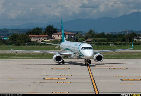 Air Dolomiti Embraer Erj-195 (190-200) At Verona