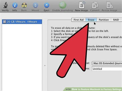 how to restore macbook to factory settings 11 steps