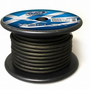 Xs Flex Black 4 Awg Cable
