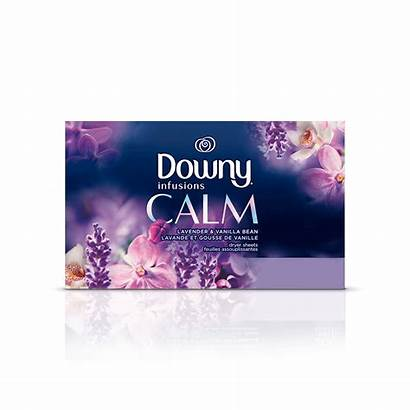 Downy Sheets Calm Dryer Fabric Softener Infusions