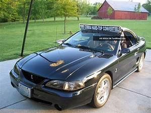 1995 Mustang Svt Cobra Convertible W / Removable Hardtop