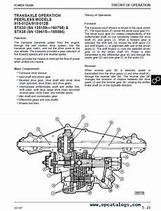 28 John Deere Stx 38 Belt Diagram