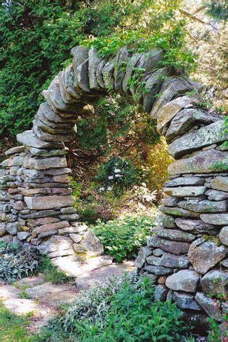 ideas  moon gate  pinterest stone work