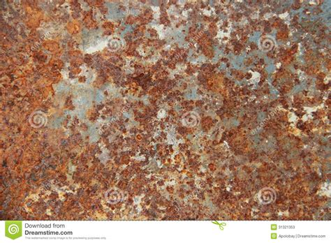 Old Rust Surface, Iron Texture Stock Image-image