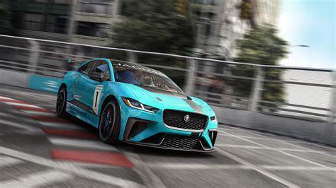 4k Wallpaper Jaguar Car by Jaguar I Pace Etrophy Electric Race Car 4k Wallpaper Hd