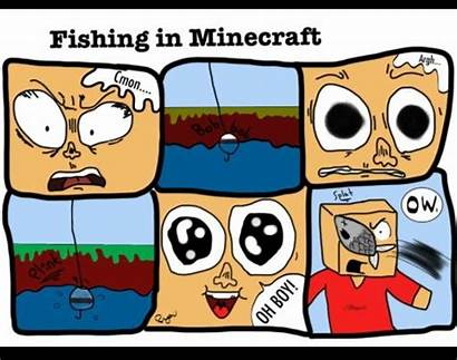 Minecraft Comics Fishing Memes Hate Why Creations