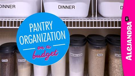 Pantry Organization on a Budget (Part 1 of 4 Dollar Store