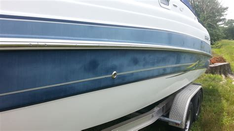 How To Spray Paint A Fiberglass Boat by Spray Painting Gelcoat Painting Ideas