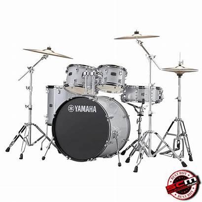 Yamaha Drum Kit Rydeen Cymbals Glitter Hardware