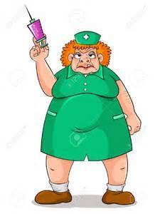 Scary Nurse Clip Art