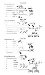 resultado de imagen de this that these those pdf exercises