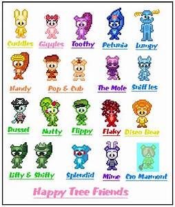 Happy Tree Friends Aventure Land Favourites By
