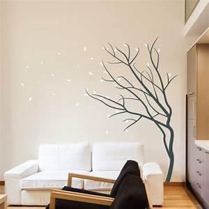 Schlafzimmer In Brauntönen : 35 wandtattoos baum die einen hauch natur nach hause bringen ~ Sanjose-hotels-ca.com Haus und Dekorationen