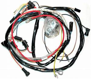 1972 Corvette Wiring Harness  350 Engine  Manual