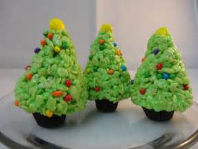 Rice Krispie Christmas Trees by Rice Krispies Cereal Treat Christmas Trees With Yoyomax12