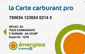 Carte Carburant Total : carte carburant pro e leclerc ccs ~ Medecine-chirurgie-esthetiques.com Avis de Voitures