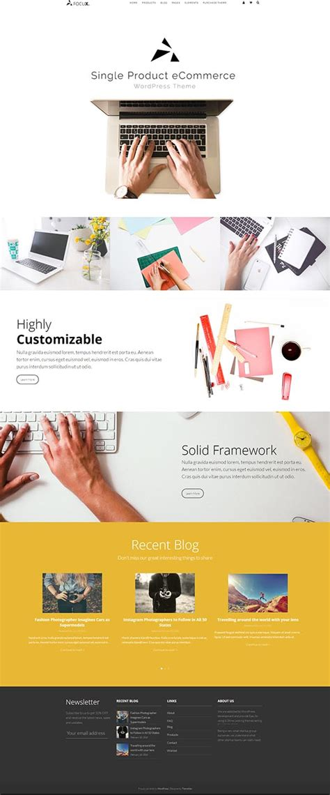 Change Template Page Simple Product Woocommerce by Focux Multi Purpose Single Product Woocommerce
