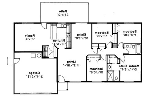 open living house plans 4 bedroom open floor plan also ranch plans for bath 2017