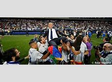 """Zidane """"This is my happiest day as a coach"""" Real Madrid CF"""