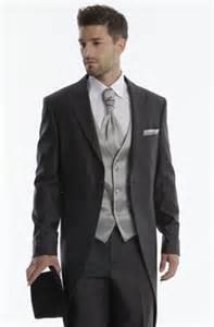 costume de mariage costume 3 pièces gris foncé jean de sey costumes de mariage pour homme et accessoires
