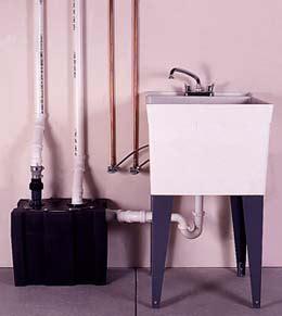 installing a utility sink in basement installing a basement laundry sink